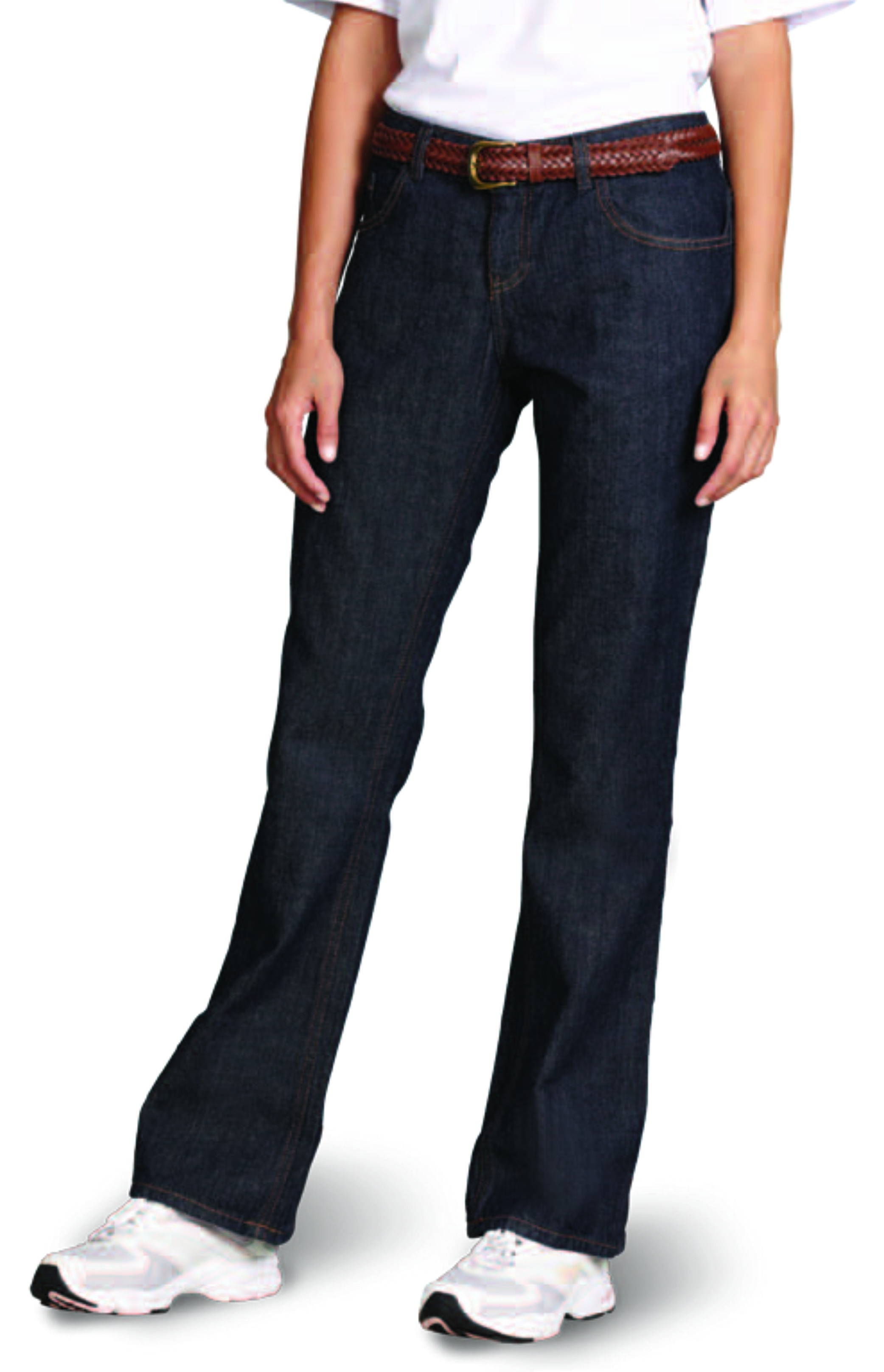 Rugged Stretch Denim Trouser