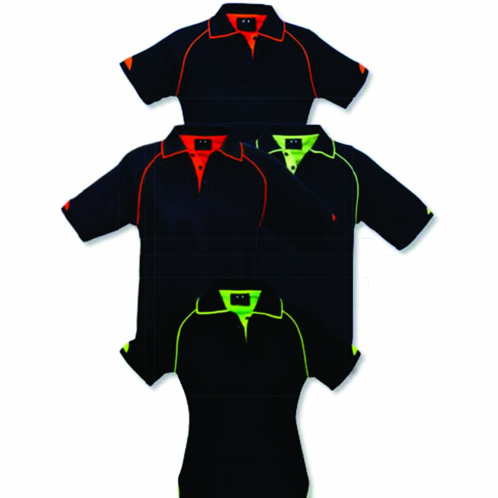 Fusion Contrast Polo Colors