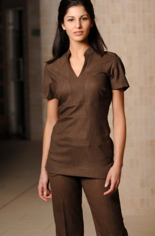 Spa uniform for ladies 11 blog uniforms for Uniform beauty spa
